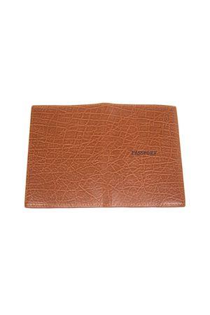 Обложка для паспорта No name 01-2# коричневая