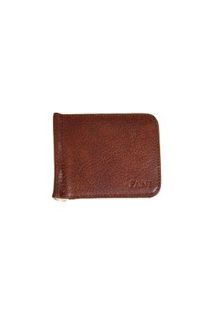 Зажим для денег Fani V9010B-16 коричневый