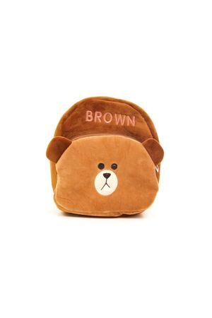 Рюкзак детский No name коричневый 150981-0001