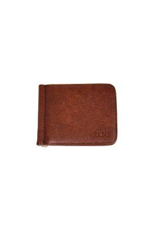 Зажим для денег Fani V9010A-16 коричневый